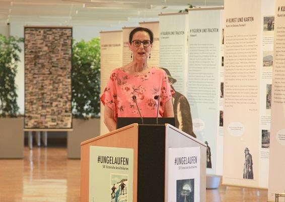 Interview mit Bibliothekarin Christa Herzog